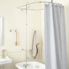 leg tub solid brass shower enclosure set bathroom
