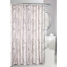 At Home Curtains Shop Moda At Home Oakwood Polyester Taupe Patterned Shower Curtain