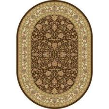 Chocolate Area Rug Oval Brown Area Rugs Rugs The Home Depot