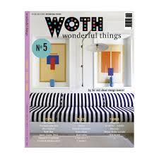 Interior Design Magazine Products Woth Woth Wonderful Things Magazine No5 English Edition Jane