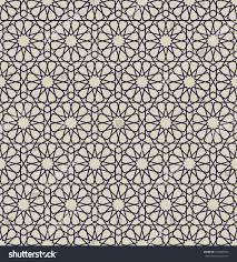 arabesque seamless pattern moroccan style mosaic stock vector