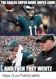 Philadelphia Eagle Memes - the eagles super bowl hopes came 12 andithen they went