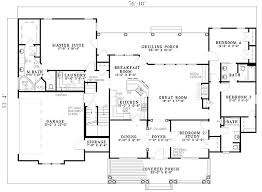 4 bedroom one house plans 2500 sq ft one level 4 bedroom house plans floor plan of