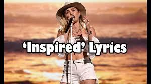 miley cyrus inspired lyrics audio new song 2017 youtube