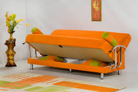 Orange Sofa Bed Exemplary Sofa Bed Orange D23 All About Home Decoration For