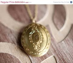 personalized locket necklace sale personalized locket necklace gold plated brass initial