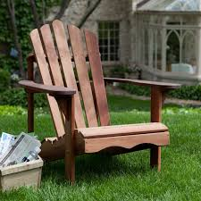Adirondack Bench Ergonomic Outdoor Patio Adirondack Chair In Red Shorea Wood