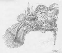 cinderella drawings u2014 the art of scott gustafson