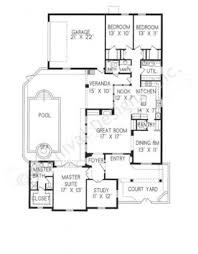 roseta courtyard house plans small luxury house plans