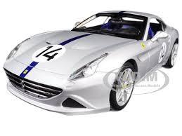 california model car california t rod silver 14 70th anniversary 1 18 diecast