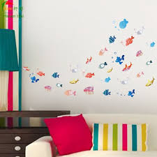 aliexpress com buy shoal of fish wallpaper for kids rooms home