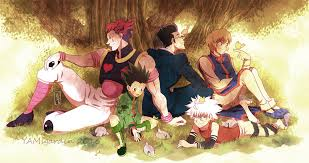 hunter x hunter just look at those times where their only problem was the hunter