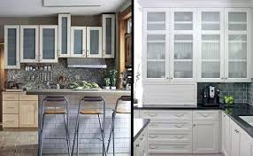 Glass For Kitchen Cabinets Doors by Kitchen Cabinets With Glass Doors U2013 Fitbooster Me