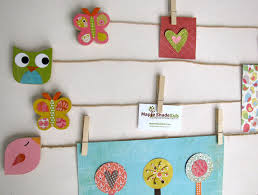 hanging kids artwork show off kids artwork with maple shade kids art clips inhabitots