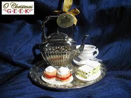 4 5 resin downton tea set ornament