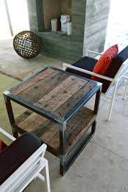 Outdoor Metal Side Table This Project Is For The Advanced Carpenter Unfinished Metal