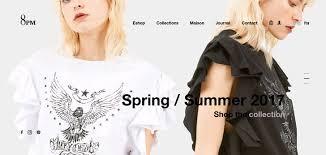 fashion e shop best fashion websites web design inspirations