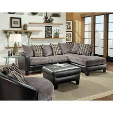 Sectional Microfiber Sofa Delta Grey Microfiber Sectional Sofa Modern Sofa Company