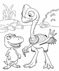 dinosaur train coloring pages printable free coloringstar