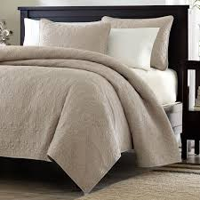 Microsuede Duvet Cover Queen Full Queen Size Khaki Light Brown Tan Coverlet Quilt Set With 2
