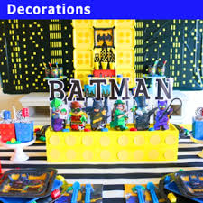 lego batman party supplies party decorations party savers