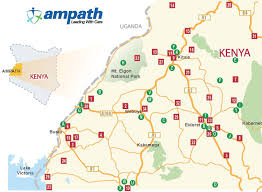 Health Map Ministry Of Health Ampath Clinic Sites