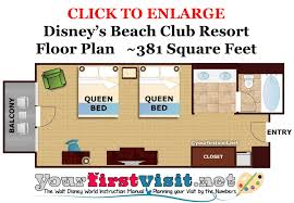 Disney Cruise Floor Plans by Review Disney U0027s Beach Club Resort Yourfirstvisit Net