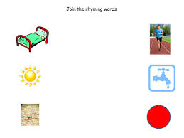 join the rhyming words worksheet by claireh1039 teaching