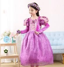 tangled princess rapunzel costume kids christmas children