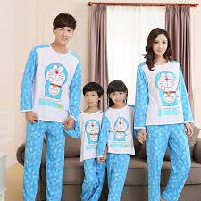 family pajamas family clothing set matching clothes family cotton