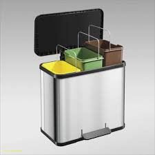 bac poubelle cuisine enchanteur poubelle cuisine tri selectif 3 bacs avec poubelle