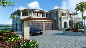 artstation modern luxurious 3d home exterior design new