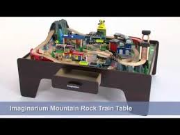 imaginarium mountain rock train table instructions kidkraft train table youtube