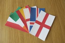 How To Sew A Flag How To Make Your Own Euro 2016 Party Decoration Katy Gibson