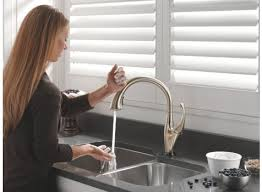 touch faucet kitchen cool great no touch kitchen faucet 75 with additional home design