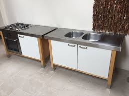 ikea varde freestanding kitchen units in cambridge
