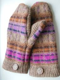 sweater mittens recycled sweater mitten pattern allfreesewing com