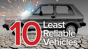 second car ever made top 10 least reliable cars the short list youtube