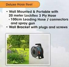 Wall Mount Garden Hose Reel by Lockflex Portable Garden Hose Reel End 4 19 2018 10 15 Am
