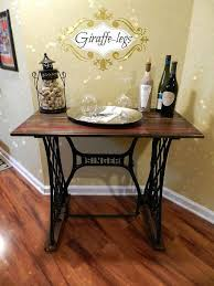 sewing machine table ideas singer sewing machine table hometalk