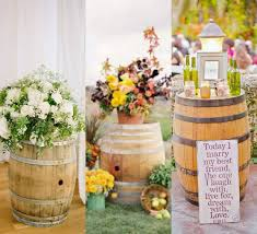 ideas incorporate wine barrels in rustic wedding u2013 weddceremony com