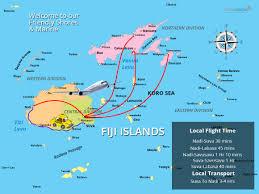 Fiji Islands Map Local Travel Film Fijifilm Fiji
