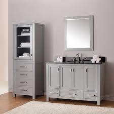 extraordinary 54 inch bathroom vanity single sink verambelles