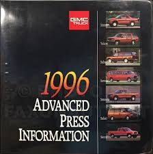1996 express u0026 savana repair shop manual 2 volume set original