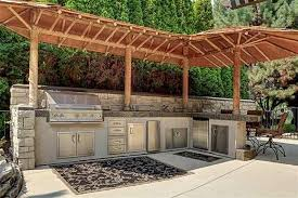outdoor kitchen roof ideas great ideas for outdoor kitchens freestyle pools spas inc