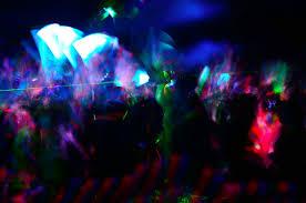 Blue Light Live Beauty Bar Dressing Up As Shuttered Teen Club Zero Gravity For