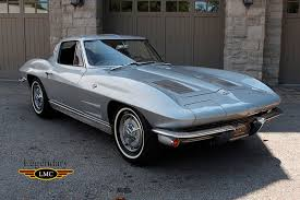 corvette stingray split window 1963 chevrolet corvette sting split window