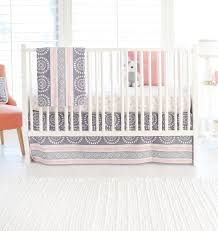 Coral Nursery Bedding Sets by Gray And Coral Baby Blanket Gray Baby Blanket Coral Baby Blanket