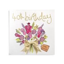 40th birthday handmade 40th birthday card 3 99 a great range