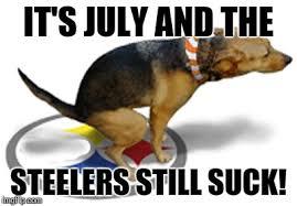 Steelers Suck Meme - poopy imgflip